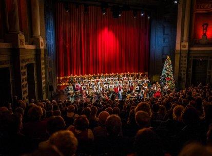 Alt-Bayerische Weihnacht im Prinzregenten-Theater in München