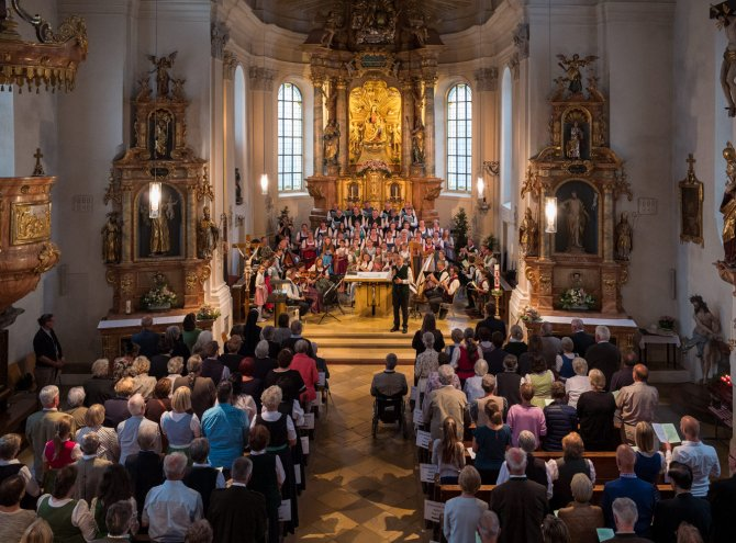 "Pfarrkirche Oberaudorf   ""Herr dieser Tag"""